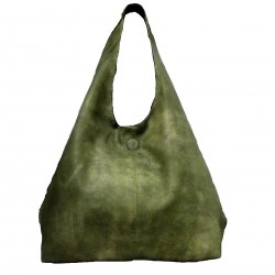 DOUBLE FACE BAG WITH POCHETTE.