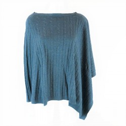 PONCHO WOOL CASHMERE