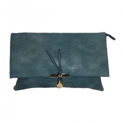ECOLOGIC LEATHER BAG WITH BOW.