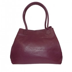 GENUINE LEATHER BAG ,DOUBLE HANDLE.